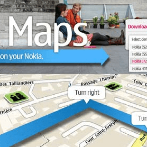 Nokia regala OVI Maps