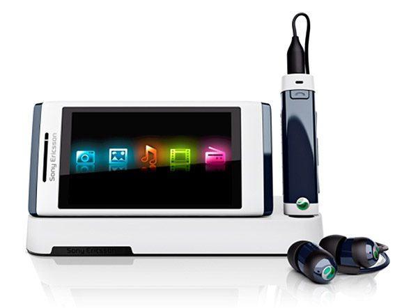 Sony Ericsson Aino frontal