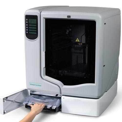 HP lanza la impresora en 3D