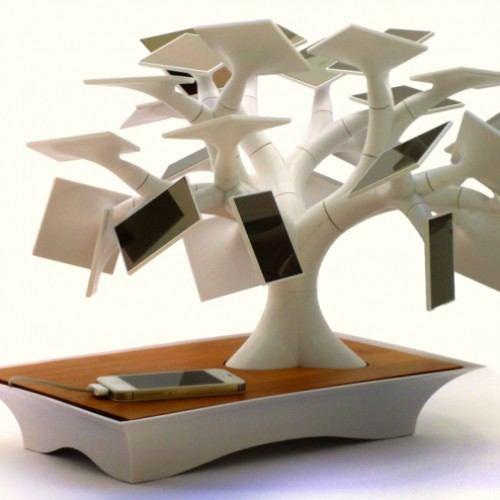Cargador bonsai solar