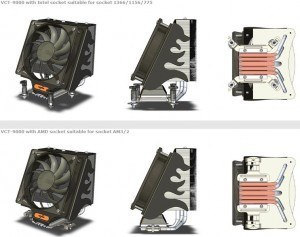 Nexus VCT 9000 Especificaciones