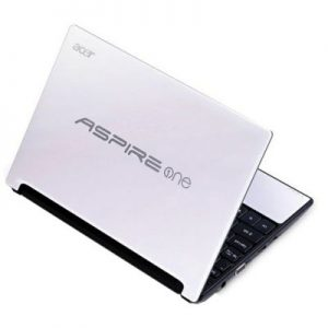 Acer Aspire One Trasera