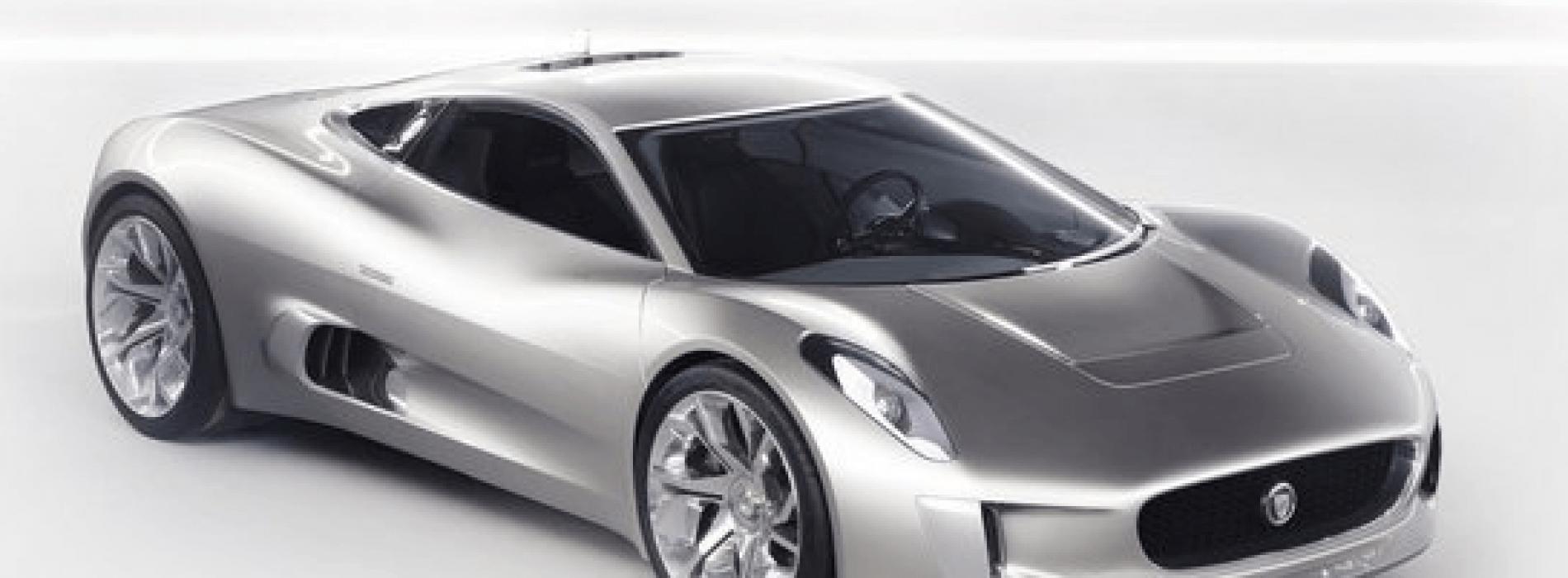 Jaguar presenta su auto concepto C-x75