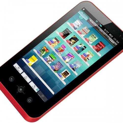El e-reader Galapagos de Sharp, se convertirá en una Tablet PC