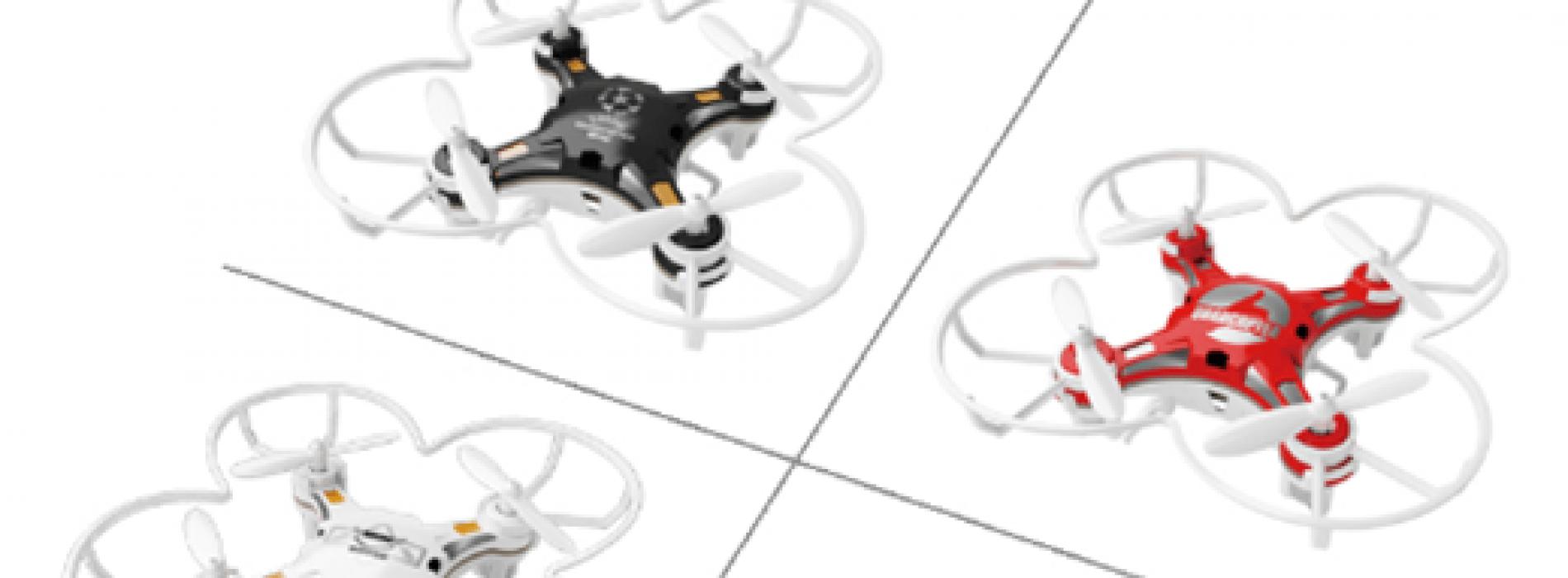 Hazte con un dron por menos de 10€