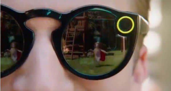 Las gafas de Snapchat