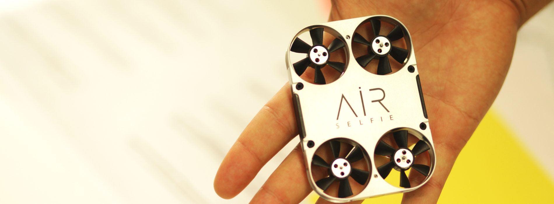 El mini dron de selfies ya ha llegado