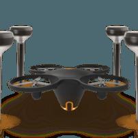 Una alarma con un dron de videovigilancia