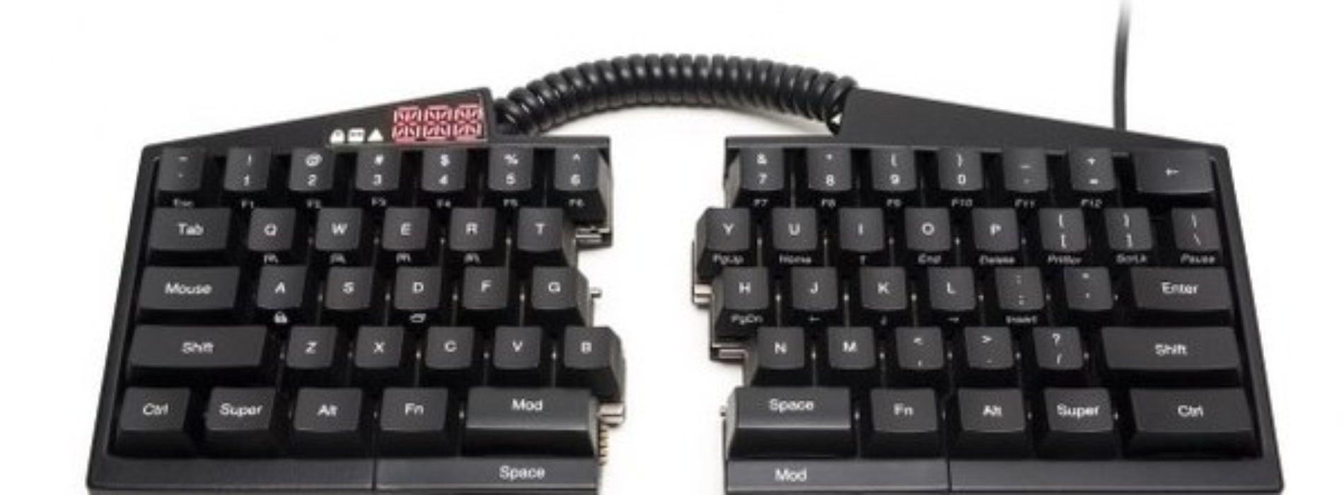 Ultimate Hacking Keyboard, el mejor teclado para programadores y escritores