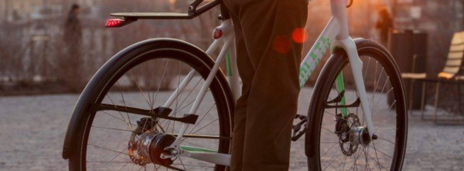 Volata 1c es una bicicleta inteligente que quiere convertirse en tu transporte diario