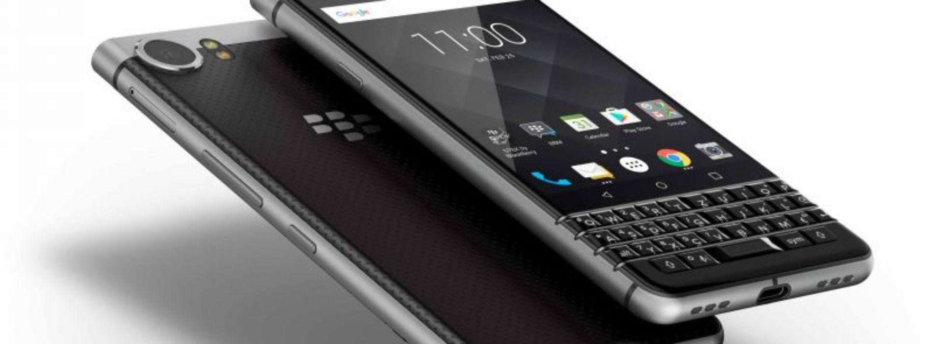 BlackBerry KEYone con Android y teclado físico