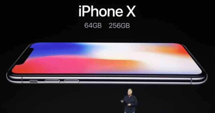 Keynote presentación Apple iPhone X